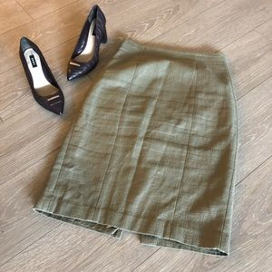Banana Republic Business Dress Skirt Back Slit